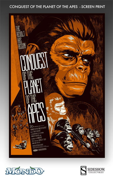 phantom city creative Conquest of the Planet of the Apes variant