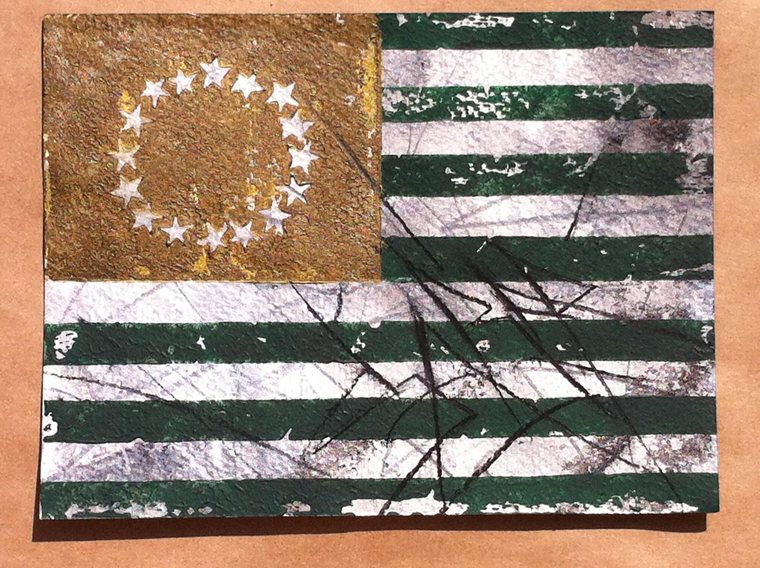 saber flag green