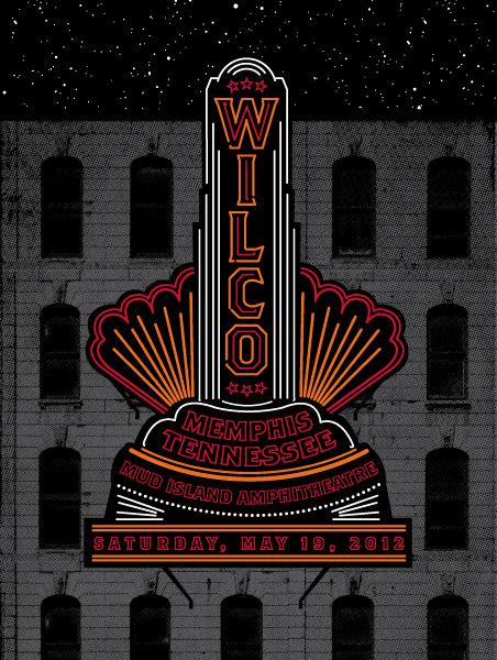 status serigraph wilco Memphis TN 2012