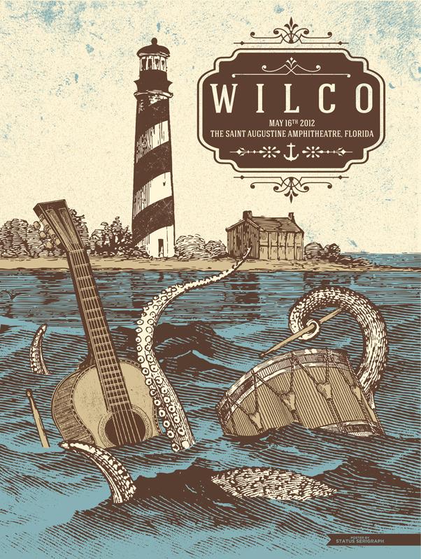 status serigraph wilco St. Augustine FL 2012