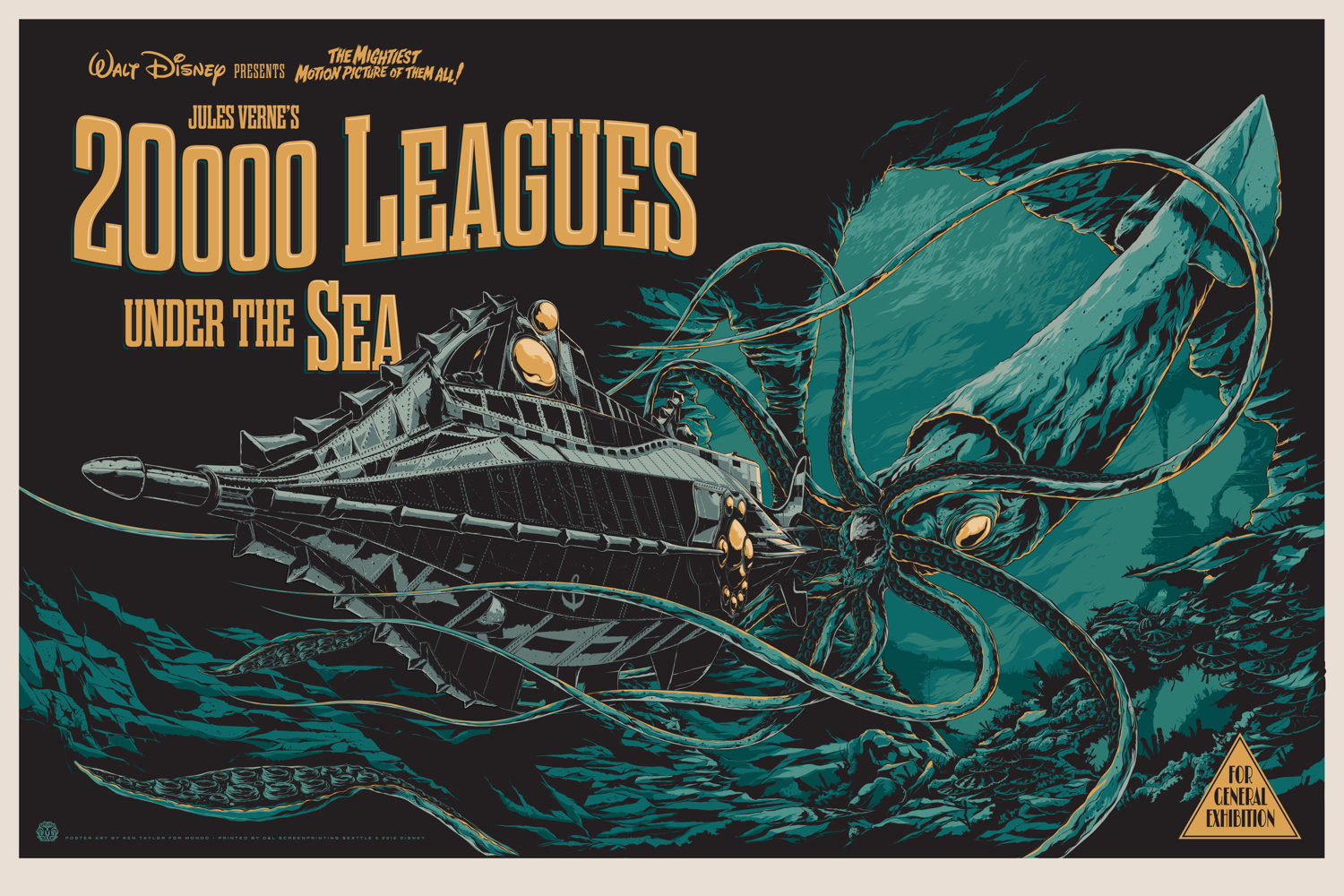 taylor 20,000 leagues under the sea