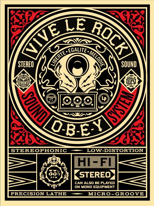 fairey vive le rock