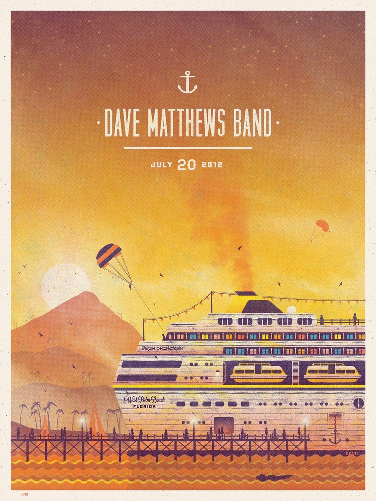 dkng Dave Matthews Band, West Palm Beach FL 2012 july 20th