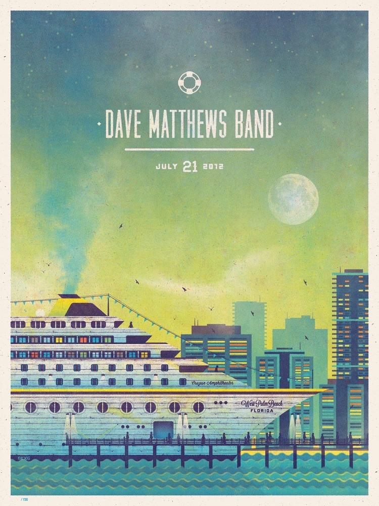 dkng Dave Matthews Band, West Palm Beach FL 2012 july 21st