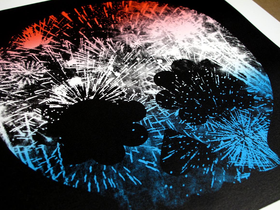 goldman Explosion, Red White & Blue 1