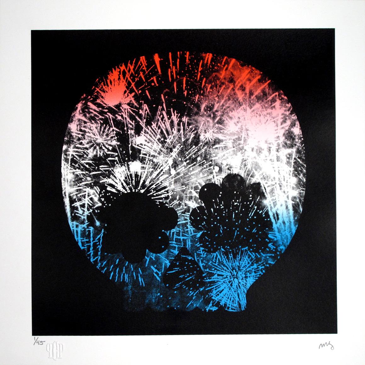 goldman Explosion, Red White & Blue