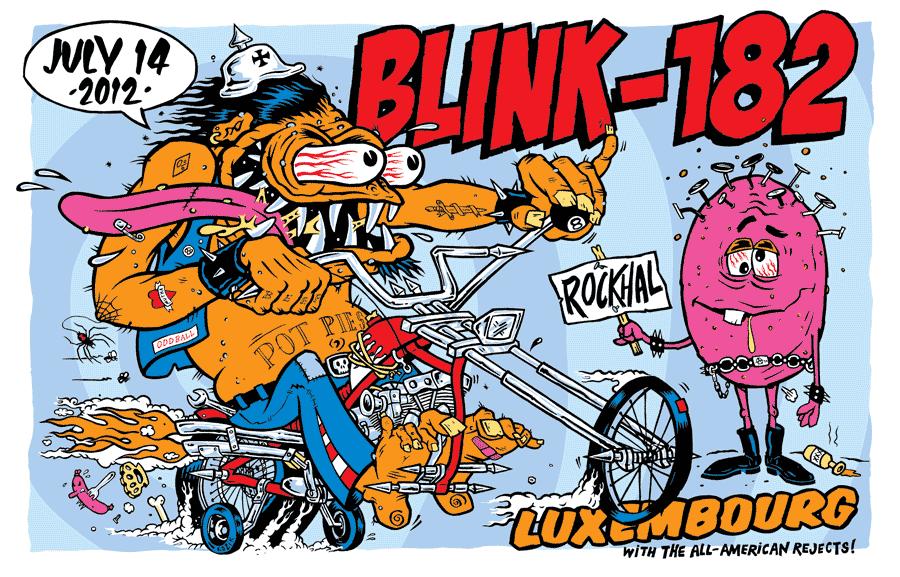 kozik blink 182 Luxembourg 2012