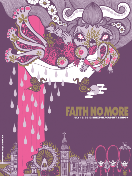 mizuno faith no more london 2012