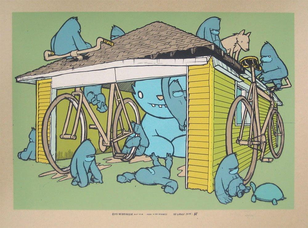 ryan the garage suite, print H