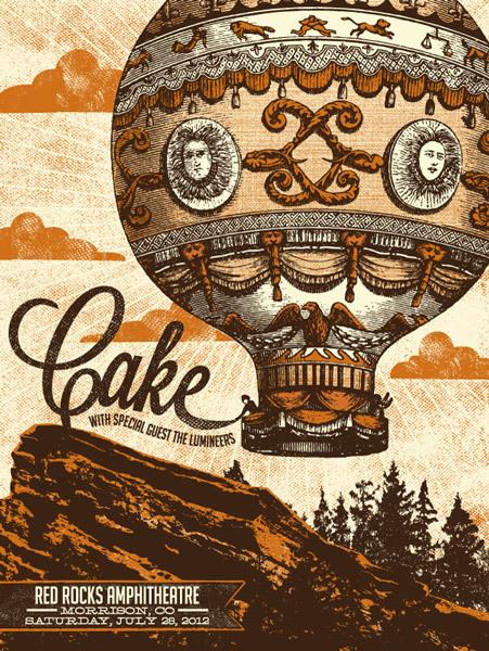status serigraph Cake, Morrison CO 2012