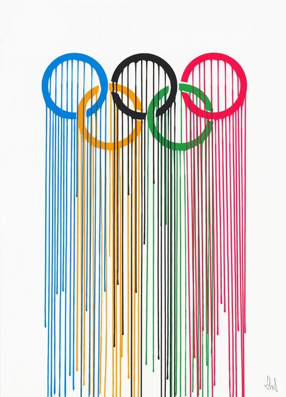 zevs Liquidated Olympic Rings