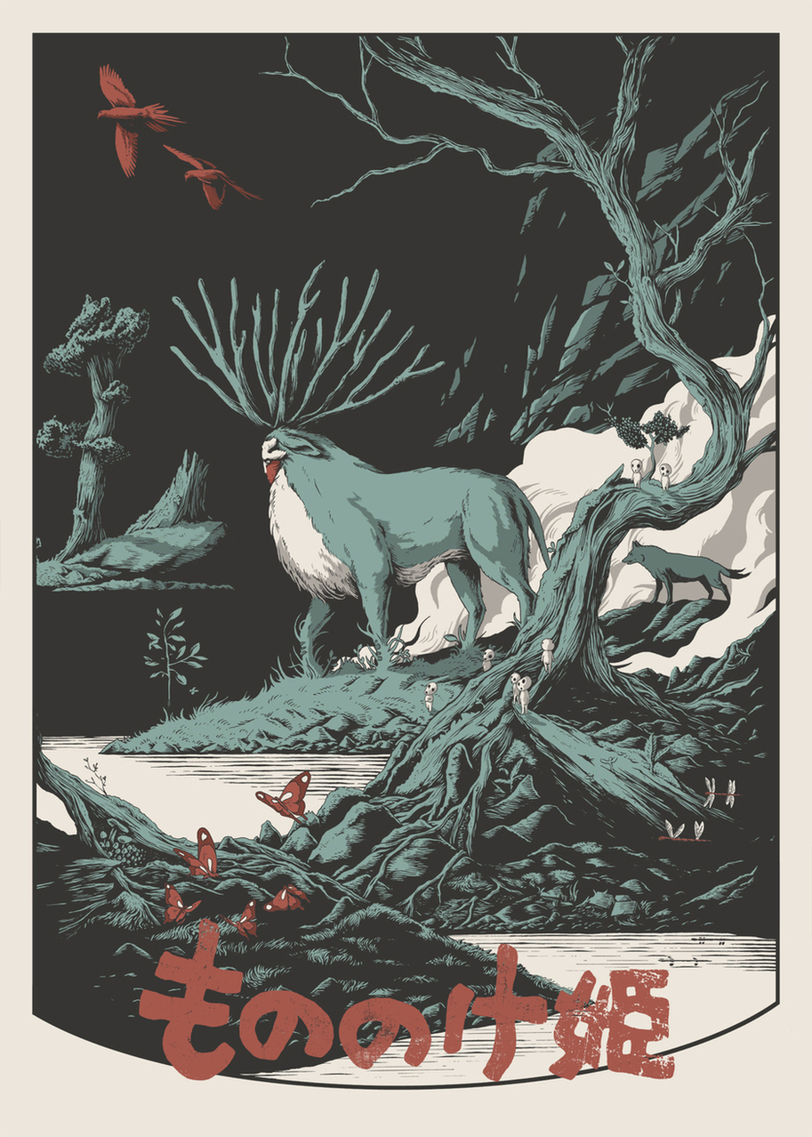 Blisters The Directors Cut Princess Mononoke by Joe Wilson