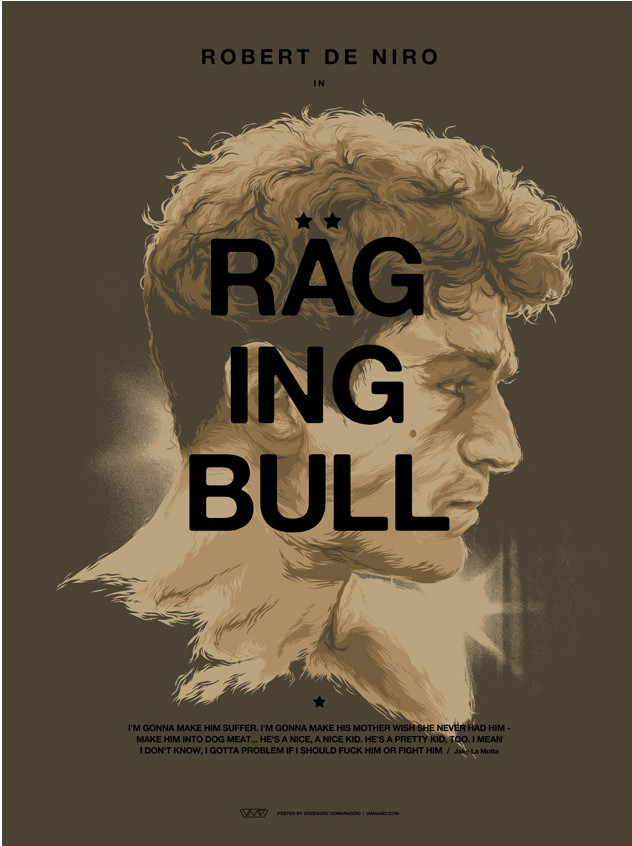 Domaradzki raging bull variant english