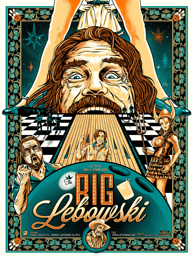 Ghoulish Gary Pullin the big lebowski gid variant