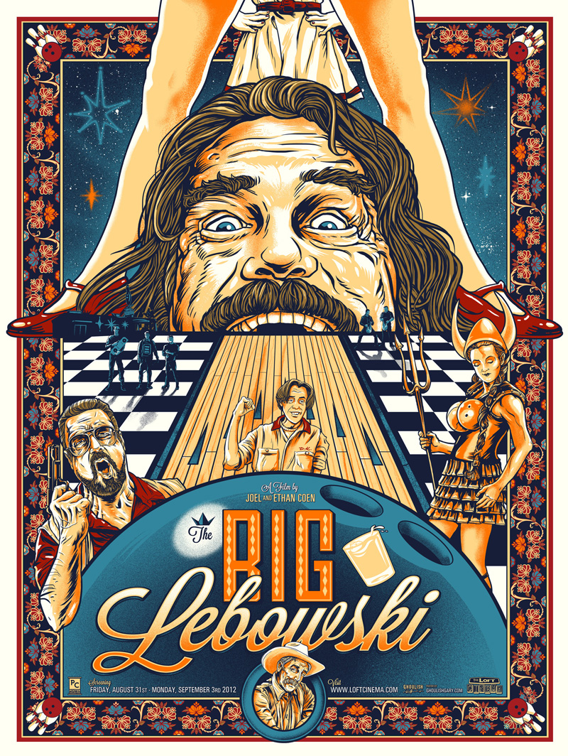Ghoulish Gary Pullin the big lebowski