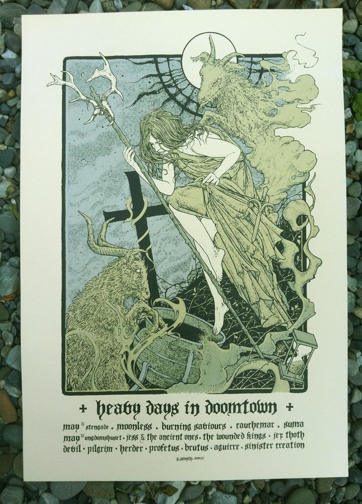 scrawled Heavy Days In Doomtown Festival 2012