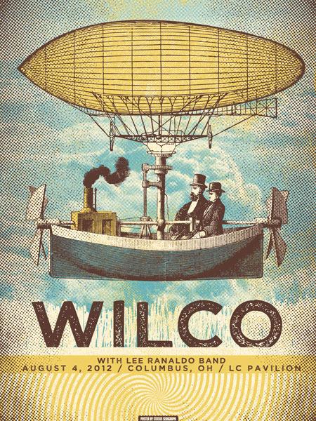 status serigraph Wilco columbus oh 2012