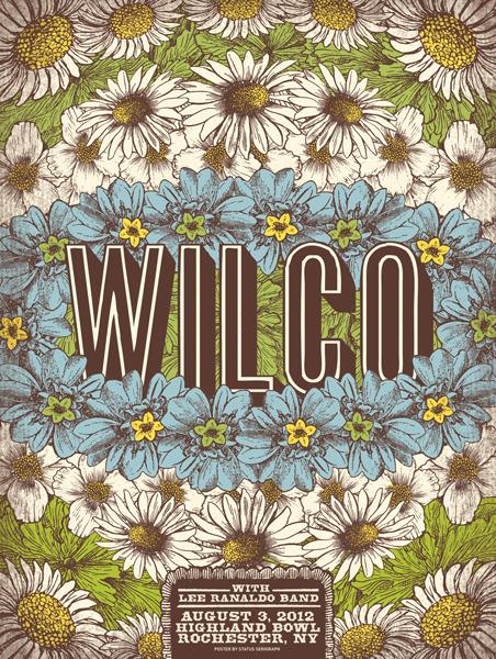 status serigraph Wilco rochester ny 2012