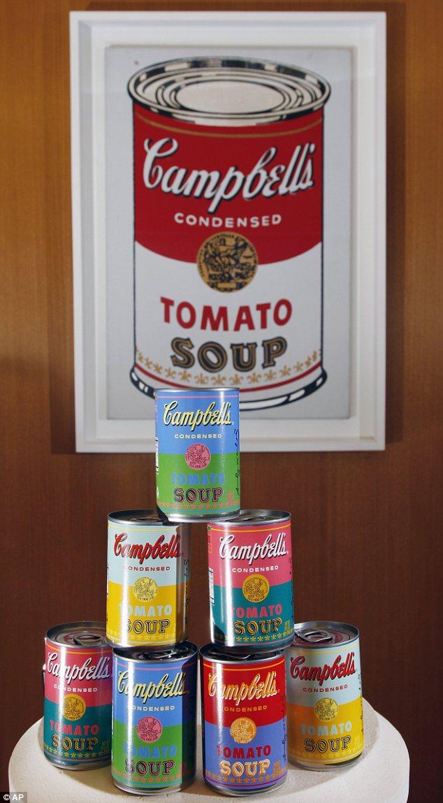warhol campbells soup 1