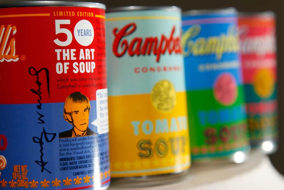warhol campbells soup 2