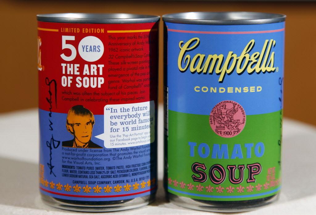 warhol campbells soup 3