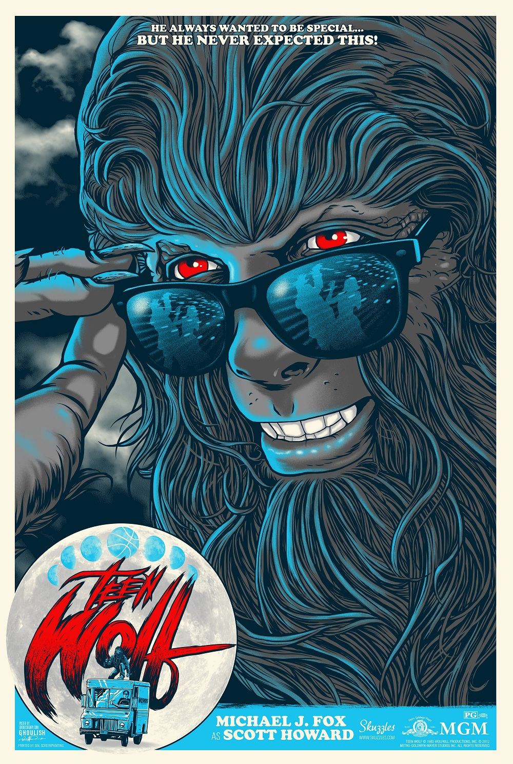 Ghoulish Gary Pullin teen wolf variant