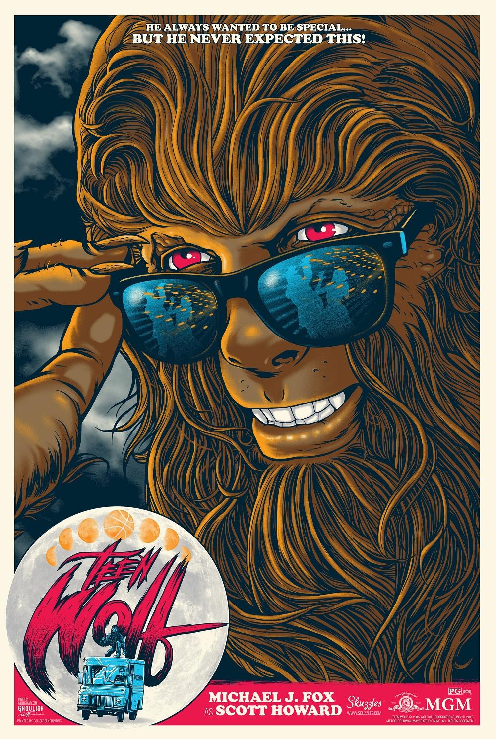 Ghoulish Gary Pullin teen wolf