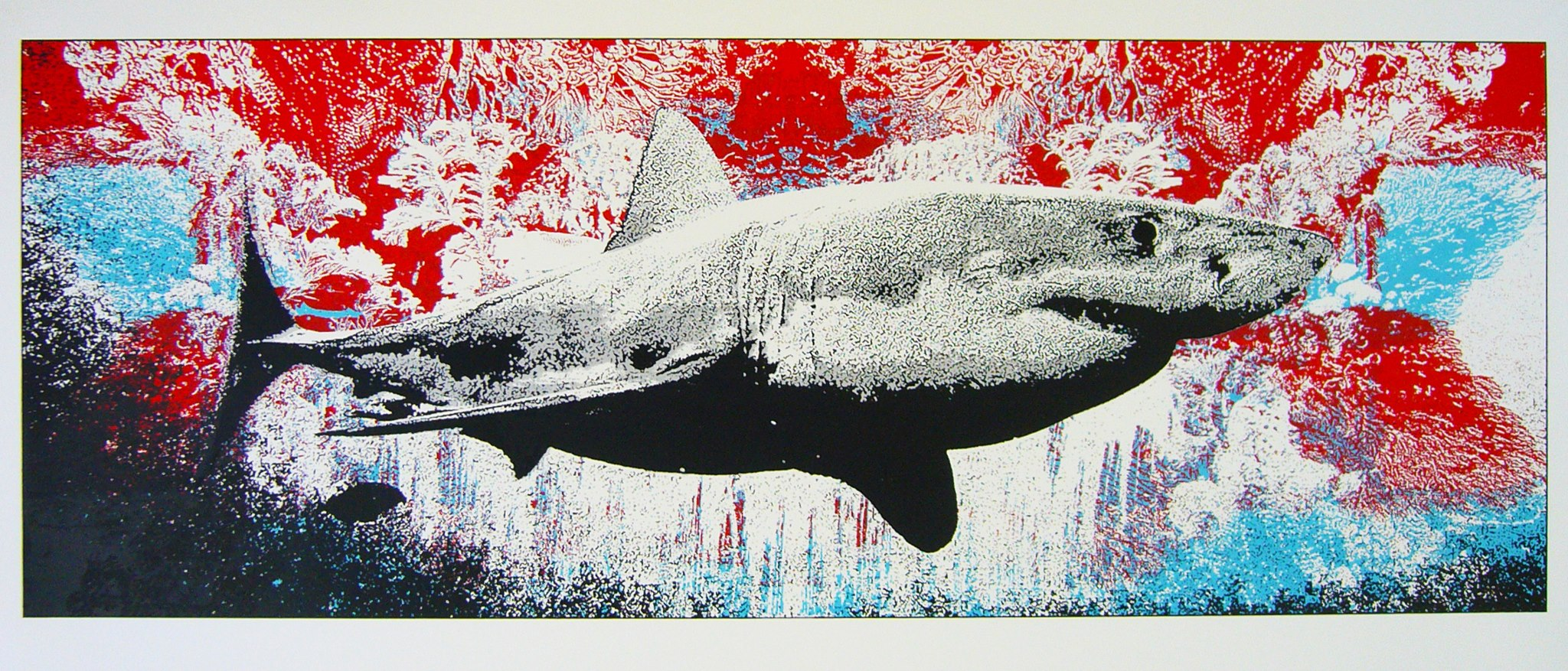dye untitled shark