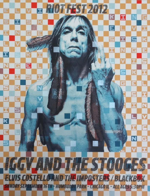 fugscreens studios Iggy Pop and the Stooges, Riot Fest 2012 4