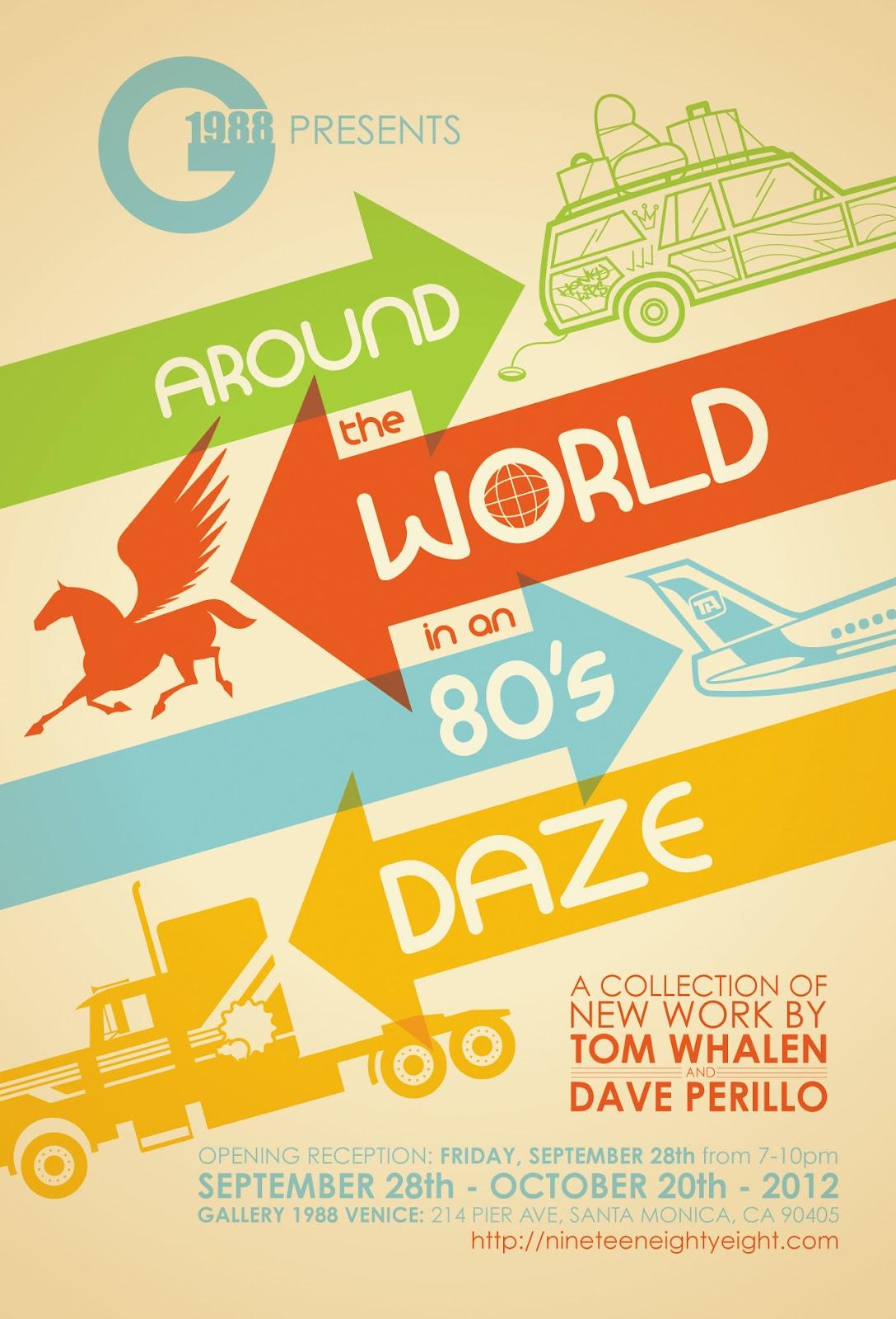 gallery 1988 AROUND THE WORLD IN AN 80's DAZE