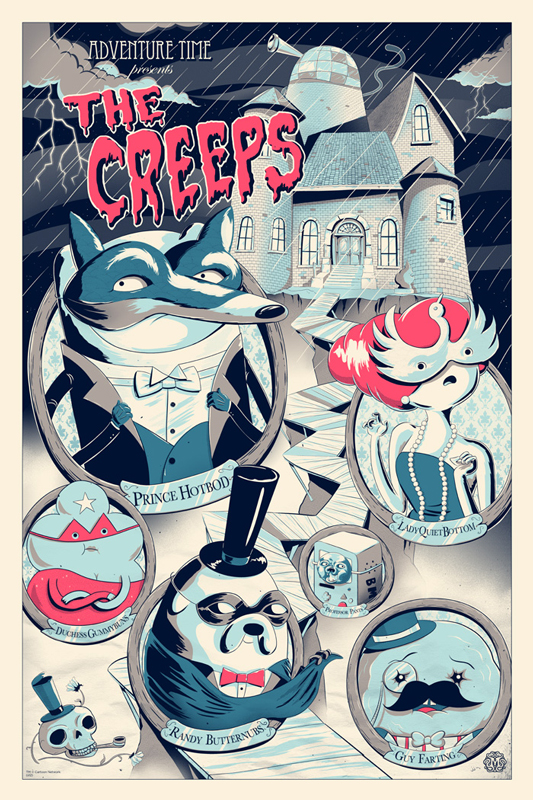 harrison the creeps variant