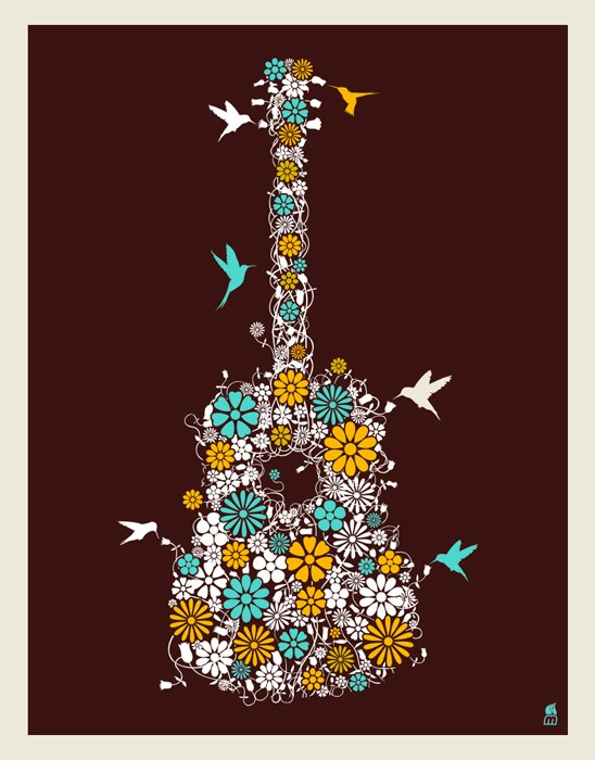 methane flower guitar