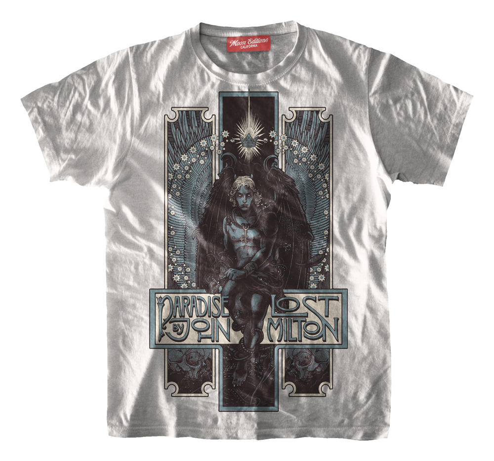 moon editions tshirt bertmer paradise lost