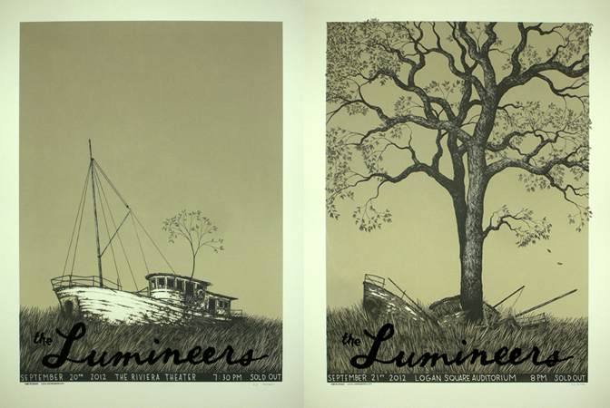 santora The Lumineers, Chicago IL 2012