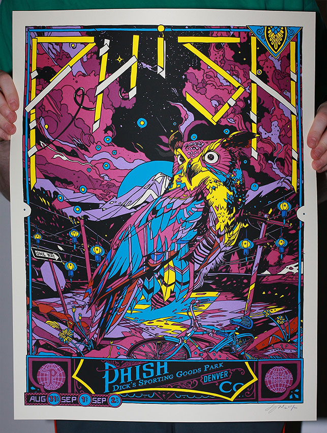 stout phish denver co 2012 purple