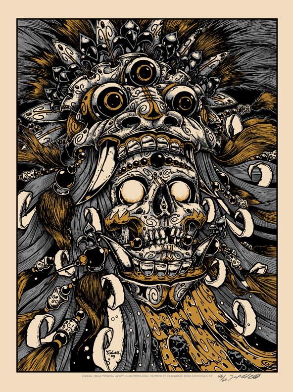 tidwell bali skull