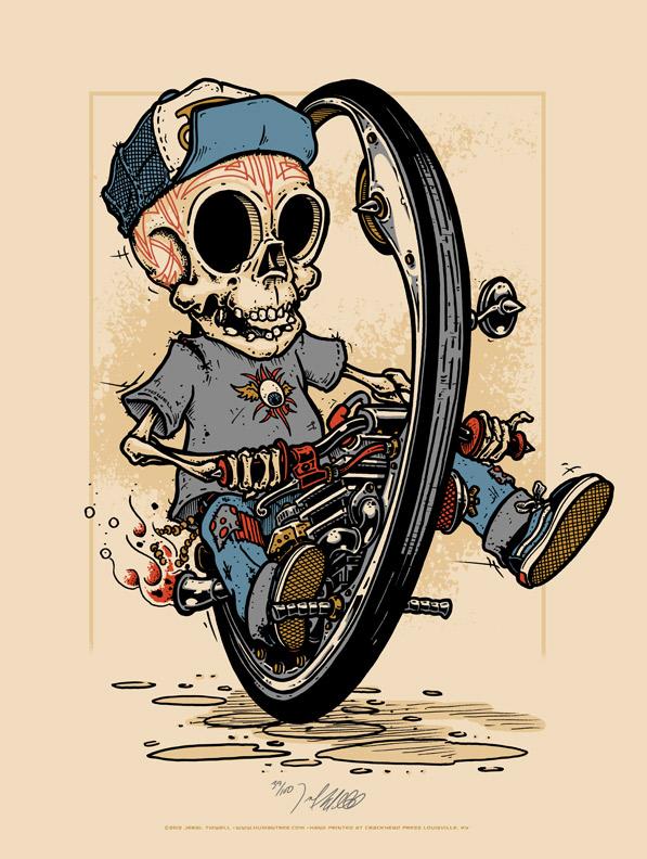 tidwell monocycle skeleton