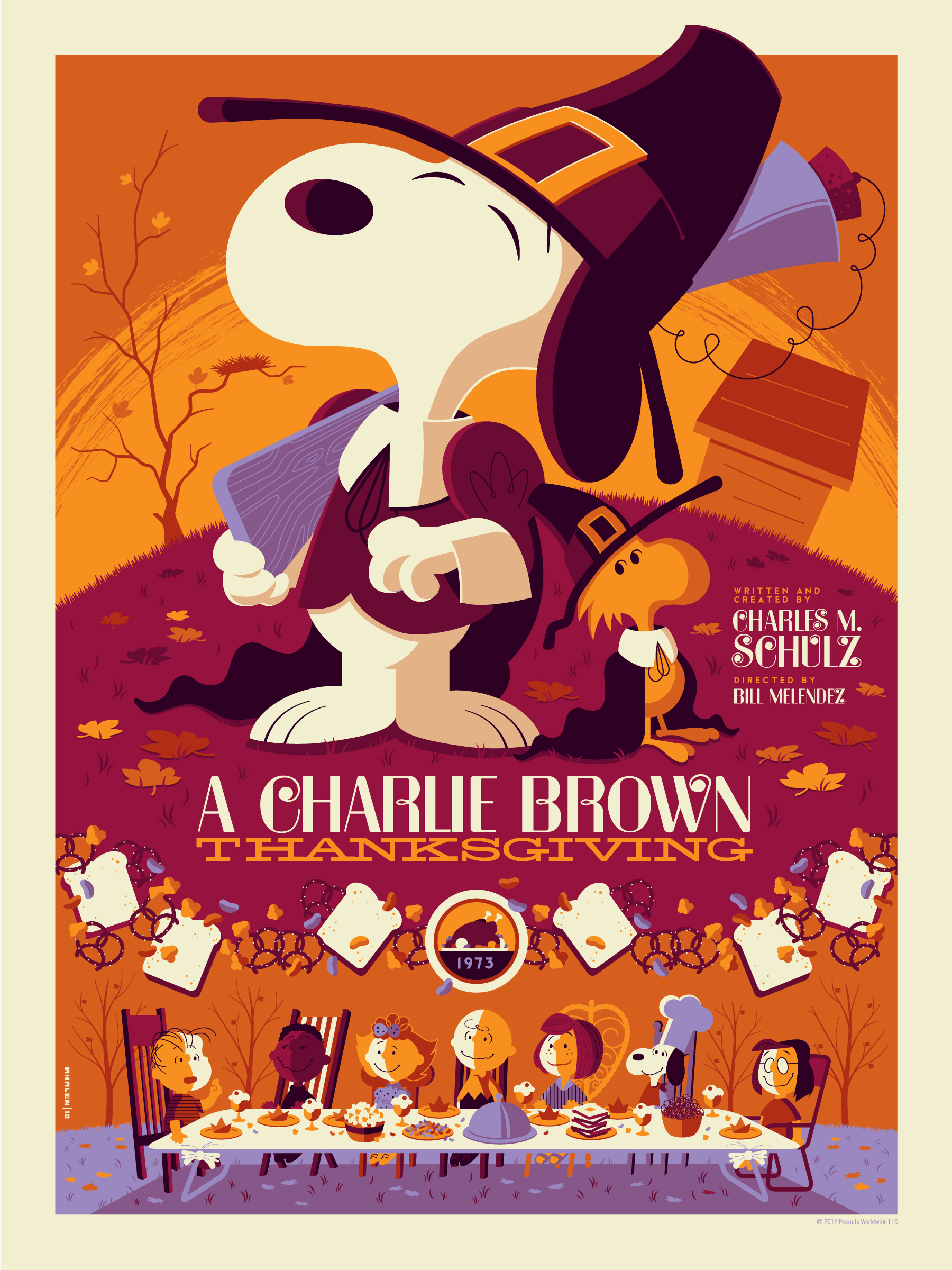 whalen a charlie brown thanksgiving variant