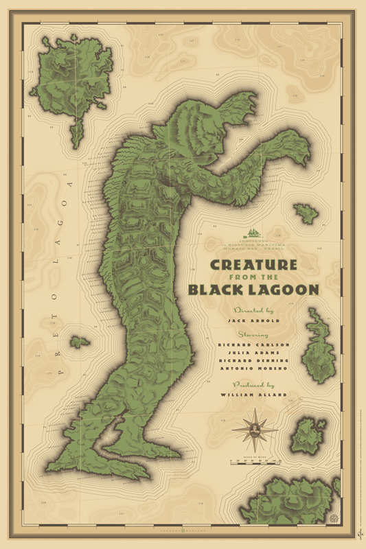 Durieux creature from the black lagoon