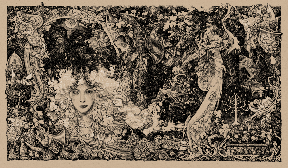 Zouravliov the lord of the rings colorway 2
