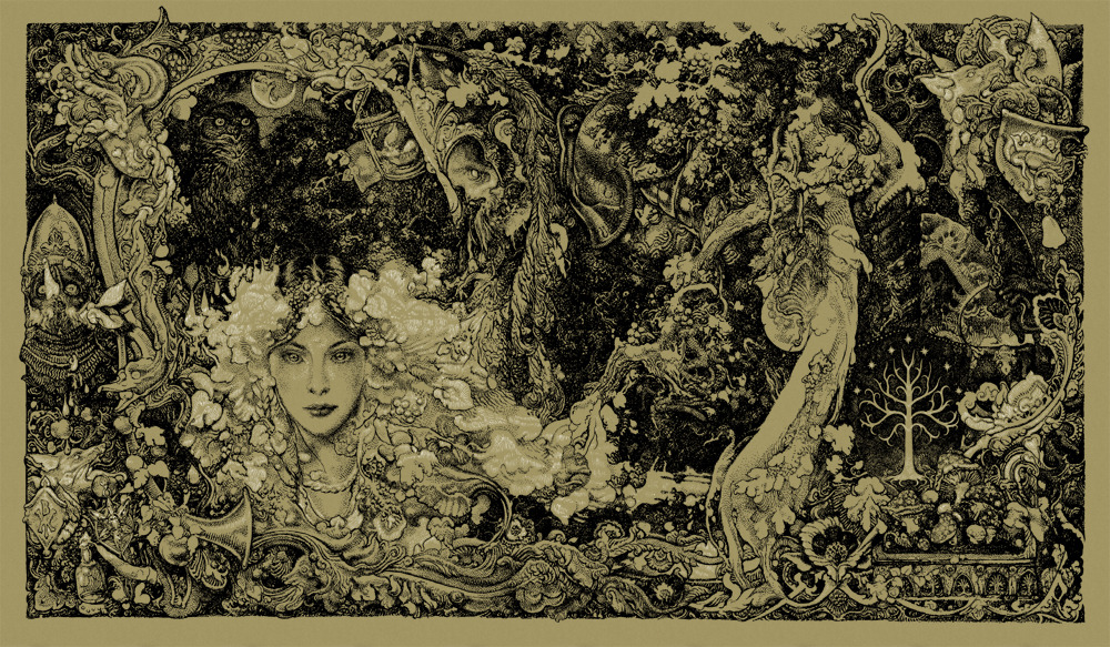 Zouravliov the lord of the rings colorway 3