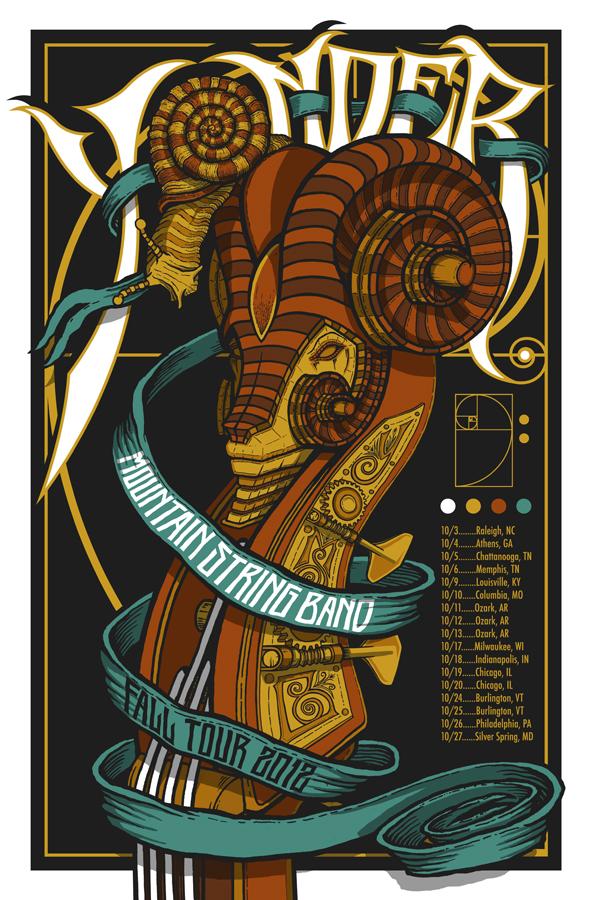 klausen yonder mountain string band fall tour 2012