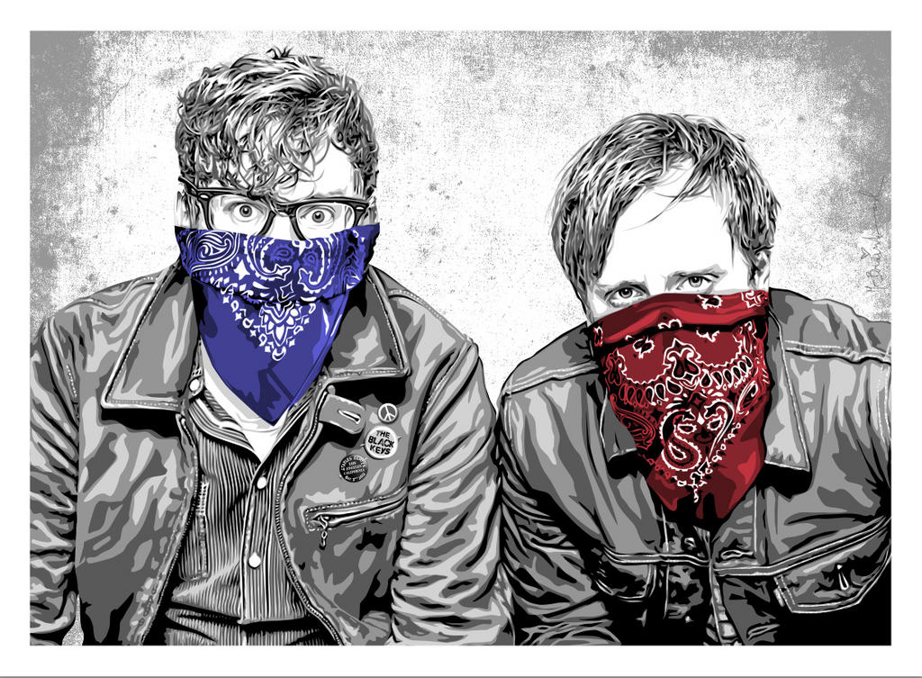 mr brainwash The Black Keys, Los Angeles CA 2012