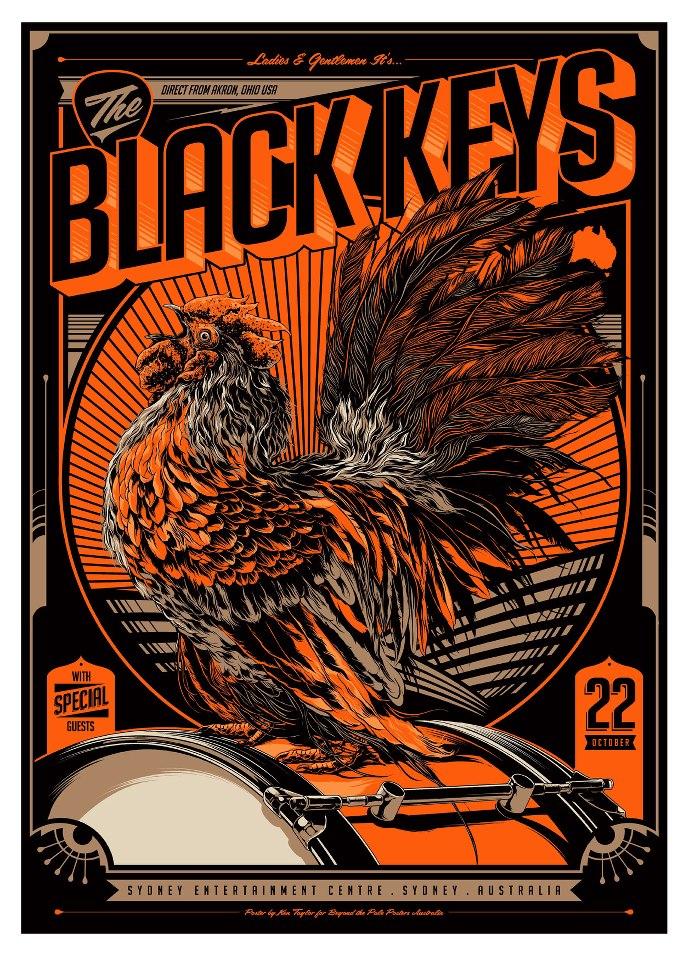 taylor the black keys sydney aust 2012