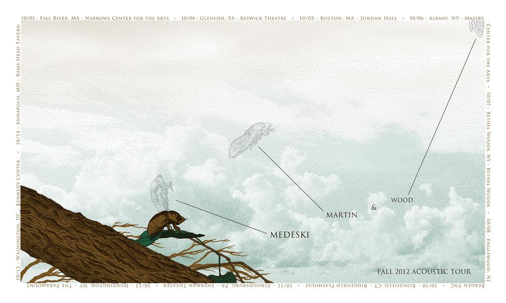 williams Medeski, Martin & Wood Fall 2012