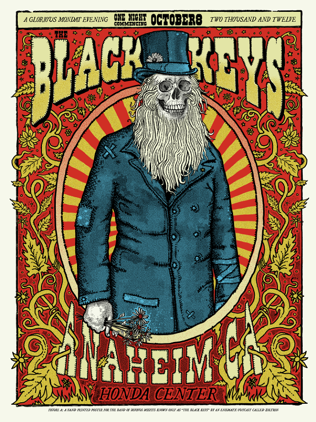 zolton the black keys anaheim ca 2012