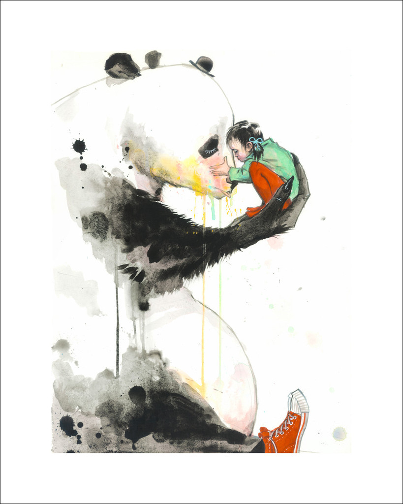 zombie panda girl