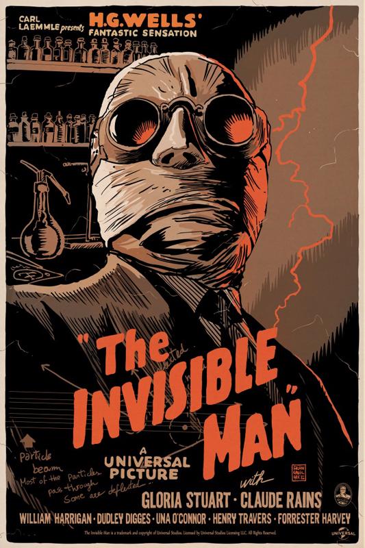 Francavilla the invisible man