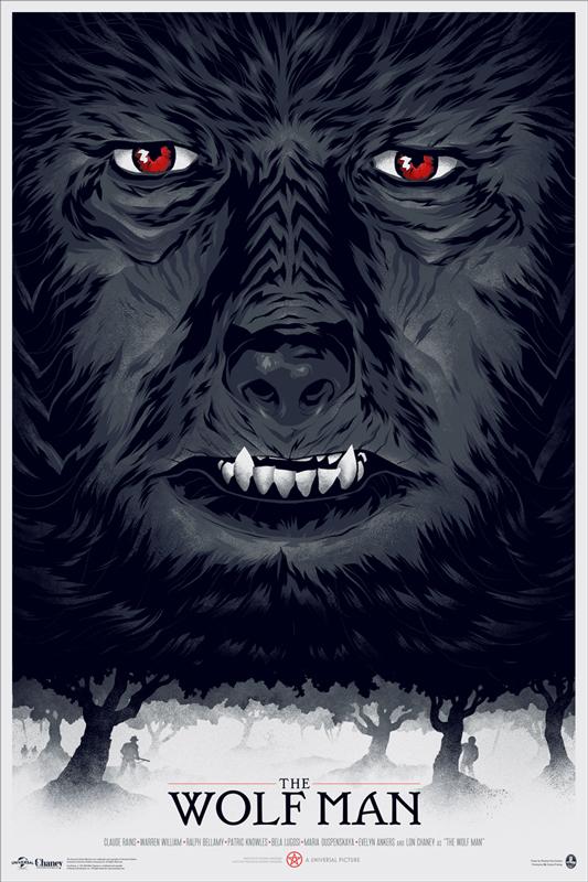 Phantom City Creative the wolf man