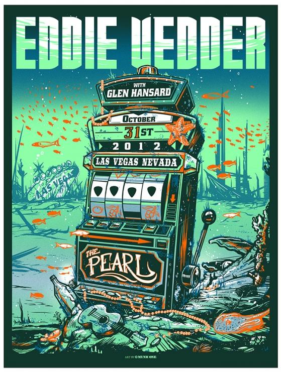 munk one Eddie Vedder, Las Vegas NV 2012